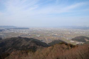 文殊山からの展望と行き方-福井展望スポット-