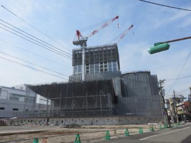 【ハピリン再開発④】ハピリンの建設工事記録(2015.1~2015.6)-福井市再開発-
