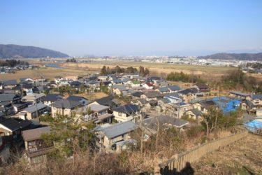 グリーンハイツ五号公園からの展望と行き方-福井展望スポット-