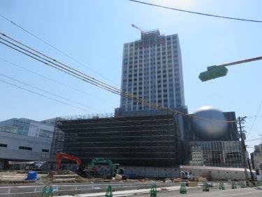 【ハピリン再開発⑤】ハピリンの建設工事記録(2015.7~2015.11)-福井市再開発-