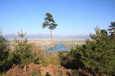 龍興寺跡白山遥拝所からの展望と行き方-福井展望スポット-