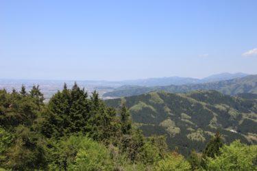 三峰城山からの展望と行き方-福井展望スポット-