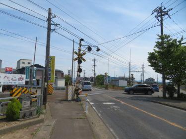 (都)川西国道線の現状と工事状況 2019.5