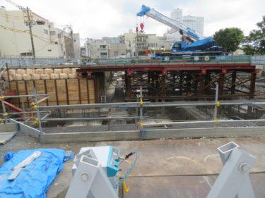 【福井銀行本店建設工事記録3】基礎工事(2019.4~9)-福井市再開発-