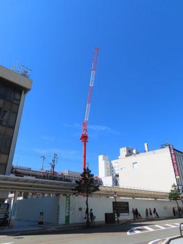 ハニー跡地再開発の建設工事記録4(2019.9~12)-福井市再開発-