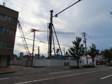 【レーベン福井ⅡPROJECT】福井市乾徳1丁目大規模マンション建設の様子 2019.07