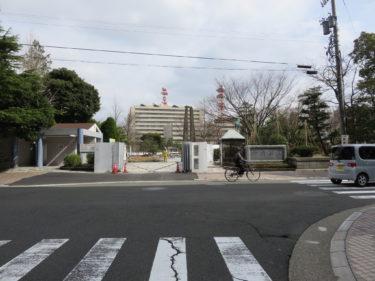 福井市中央公園の一期工事の記録 2015.2