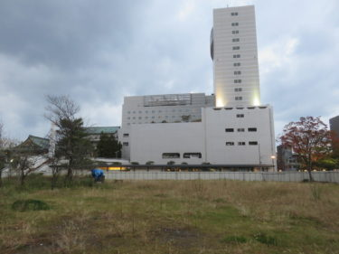 福井市中央公園の二期工事の記録 2016.11