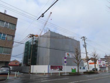 レーベン福井ⅡPROJECTの建設の様子 2020.1