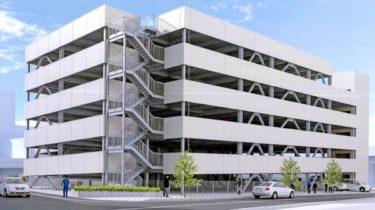 福井駅東口に立体駐車場が建設されます 2020.2【システムパーク福井駅東工事記録1】
