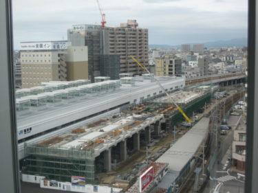 【北陸新幹線福井駅部工事記録7】(2007.8~9)橋脚にょきにょき期2