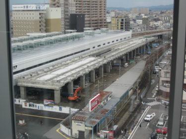【北陸新幹線福井駅部工事記録8】(2007.10~12)福井駅部高架橋先行完成