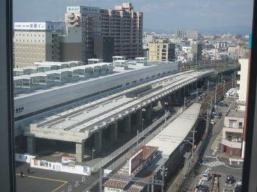 【北陸新幹線福井駅部工事記録9】(2008.1~3)各所で高架橋工事中