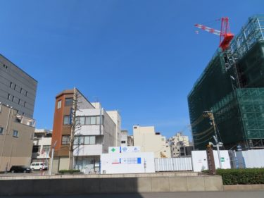【福井テラス建設工事記録4】(2020.1~3)低層階鉄骨工事