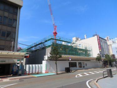 ハニー跡地再開発の建設工事記録5(2020.1~3)-福井市再開発-