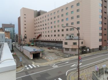 【繊協ビル建替工事記録3】(2020.1~3)駐車場解体