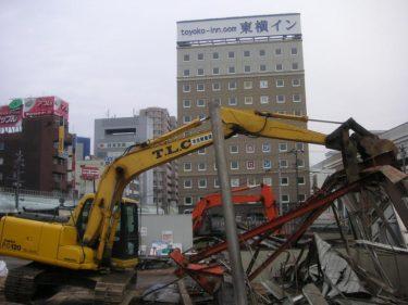 福井駅地下道の解体記録 -福井思い出建築物-