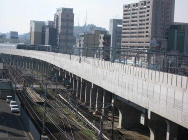 【北陸新幹線福井駅部工事記録12】(2008.10~12)高架橋完成