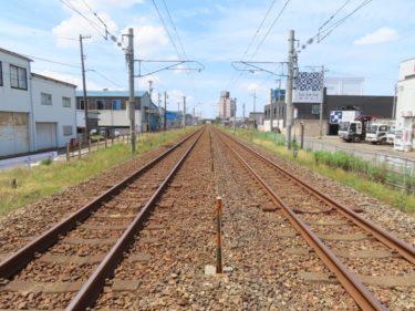 北陸本線 北福井信号所(仮乗降場)は二の宮1丁目にあった