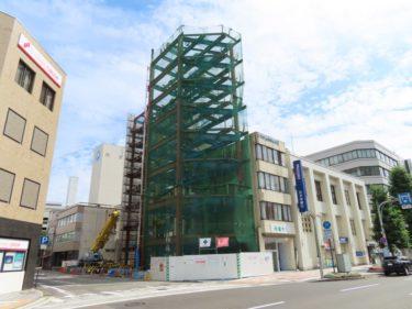 【大手町複合施設工事記録5】(2020.7~9)鉄骨組上げ