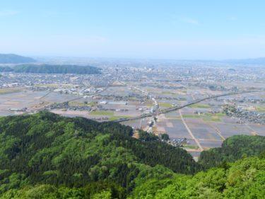 文殊山からの展望と行き方(2020年)-福井展望スポット-