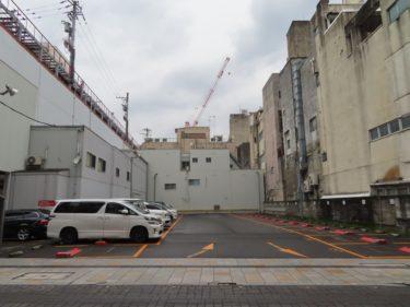福井市都心部にある大きな駐車場は何の跡地?【システムパーク パークサンロード駐車場】