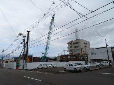 ポレスター福井さくらレジデンスの建設の様子 2020.5