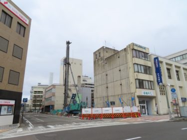 【大手町複合施設工事記録4】(2020.4~6)基礎工事