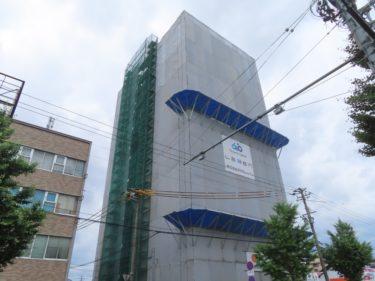 レーベン福井ⅡPROJECTの建設の様子 2020.6