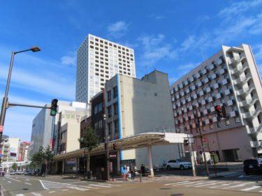 【南通り再開発工事記録1-3】(2020.2)Ⅱブロック西側の着工前の様子