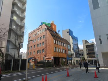 【南通り再開発工事記録1-4】(2020.2)Ⅱブロック東側・北側の着工前の様子