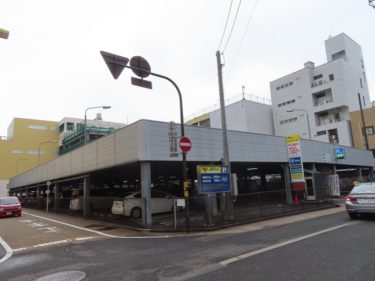福井市都心部にある大きな駐車場は何の跡地?【APパークファミリーパーキング】