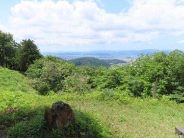 二本松山からの展望と行き方-福井展望スポット-