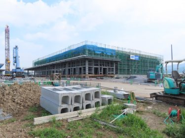 ラニイ福井貨物福井支店の建設工事記録 2020.8