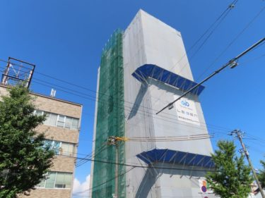 レーベン福井THE GRAND MARKSの建設の様子 2020.8