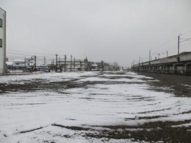 【えちぜん鉄道高架化工事記録2】(2014.1)福井口駅構内建物解体