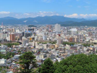 足羽山-自然史博物館からの展望と行き方(2020年)-福井展望スポット-