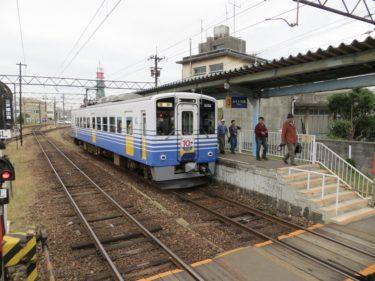 【えちぜん鉄道高架化工事記録1】(2013.10)工事開始前の福井口駅