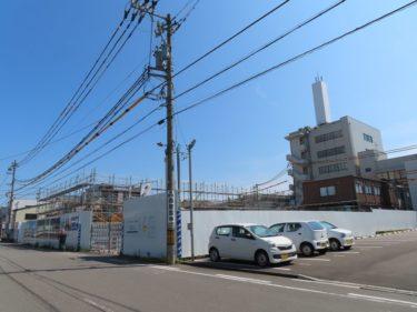 ポレスター福井さくらレジデンスの建設の様子 2020.8
