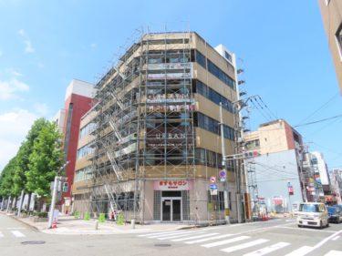 【ますもBLD工事記録1】片町に複合ビルが建設されます