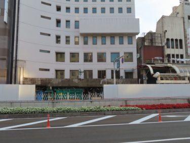 【三角地帯再開発A工事記録8】(2020.10)中央大通りのアーケード解体①