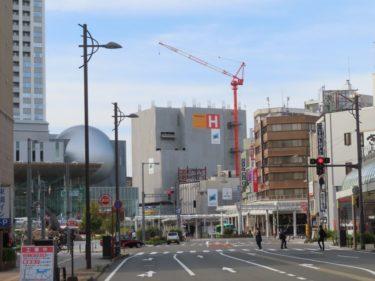 【ハニー跡地再開発工事記録9】(2020.10~)オフィス棟・マンション13階~施工中