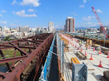 北陸新幹線足羽川橋梁の現場見学会に参加した 2020.10