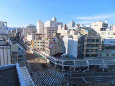 【三角地帯再開発A工事記録13】(2020.11)中央大通り足場設置中