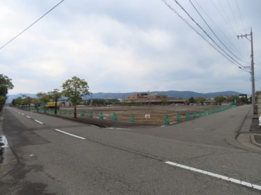 福井県知事公舎跡地開発の様子 2020.12