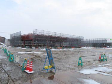 ゲンキー福井南店建設の様子 2020.12
