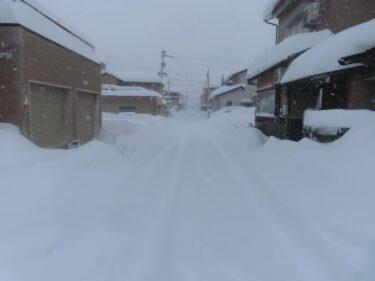 大雪時の福井駅前の様子②【2021年1月9日】