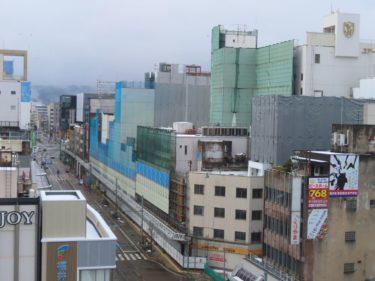 【三角地帯再開発A工事記録18】(2020.12)電車通り足場設置中5