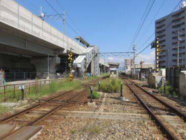 【えちぜん鉄道高架化工事記録10-2】(2015.9)仮線敷設工事⑧切替え直前2