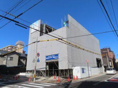 熊谷組福井本店の建設の様子 2021.2